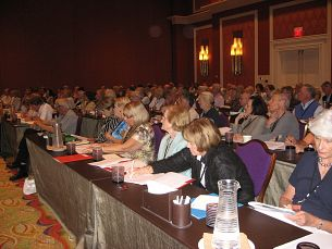 Audience at the 2009 Bergen-Cohen seminar at the Wynn Las Vegas