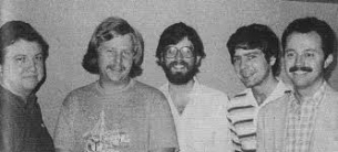 1984 Spingold Winners (Marty Bergen, Jeff Meckstroth, Eric Rodwell, Larry Cohen, Eddie Wold)
