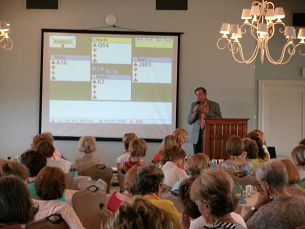 Larry teaching Coral Bay Club, Atlantic Beach, NC Summer 2015
