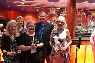Linda Haft, Mary Lynch, Deborah Burkhart, Larry, and Nancy Spencer