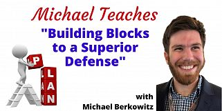 Michael Teaches Building Blocks Defense After Dummy Hits (Webinar Recording aired 2/26/21)