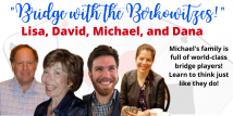 Bridge with the Berkowitzes - All 4 Recorded Webinars