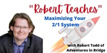 Robert Teaches Maximizing Your 2/1 System Powerful Rebids (Webinar Recording aired 12/22/20)