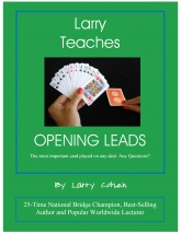 Larry Teaches Opening Leads