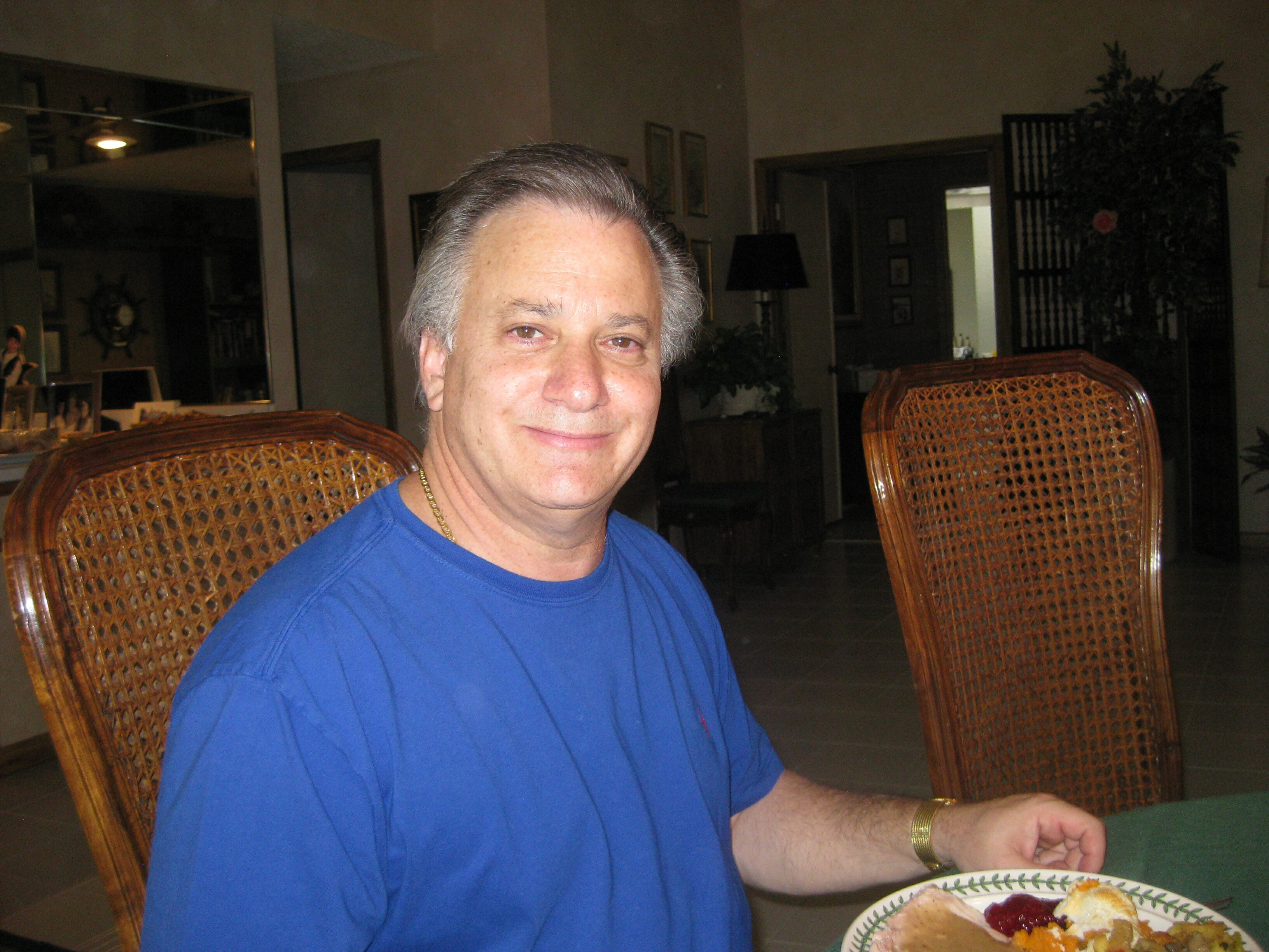Jeff Wolfson at Thanksgiving, 2010